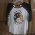 Make An Offer: Yin & Yang Raglan T-Shirt