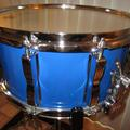 Selling with online payment: Ludwig Snare Drum L 472 Rock/Concert 14X6.5 Blue Cortex P87 Wire