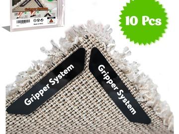 Make An Offer: Rug Gripper Carpet Corner Weights No Slip Anti Curling Non Slidin