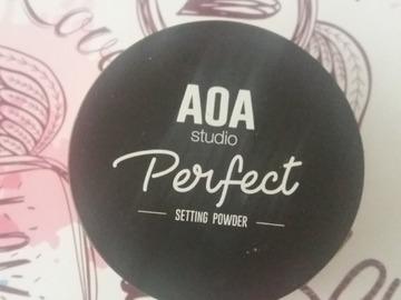 Venta: Perfect setting powder de AOA studio  es un polvo traslucido
