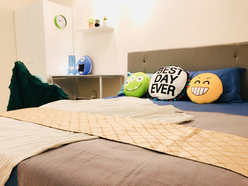 For rent: MIDDLE ROOM LEFT ! DESAMINIUM FLORA [SERI KEMBANGAN] Move in imme