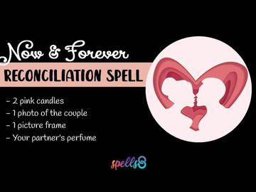 Selling: RECONCILIATION SPELL AND READING PLUS FREE WEEKLY BOOSTERS!