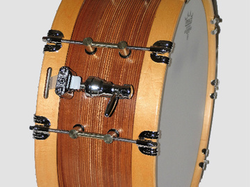 Selling with online payment: American Percussion's Mahogany Snare   ( Will Ship)
