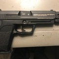 Selling: Elite Force CO2 blowback USP with compensator