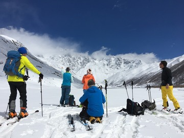 Book (with online payment): Ski Tour Expedition in Svaneti - Georgia
