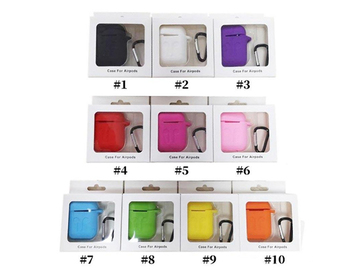 Buy Now: 100PCS For Apple Airpods 1/ 2Cases Anti-drop With Hook Retail Box