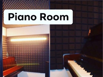Alquiler con pago online: The piano Room