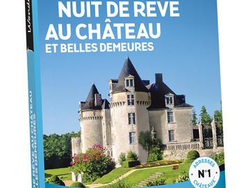 """Vente: Wonderbox """"Nuit de rêve au château et belles demeures"""" (69,90€)"""