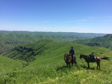 Book (with online payment): Pioneering Horseback expedition in Kabardino Balkaria - Russia