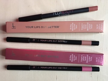 Venta: 3 Perfiladores Labios, Huda Beauty, IT Cosmetics CERTIF. INCL.