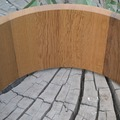 Selling with online payment: 14x7 Oak Stave Snare shell with snare bed and ready for drilling.