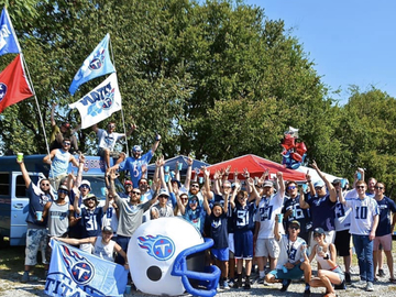 Free Events: Titans vs Jaguars Bud's Boys Pregame Tailgate Party