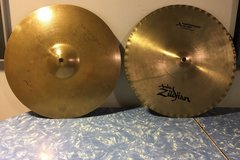 Selling with online payment: Zildjian Hi Hats - K Mastersound Bottom, Quick Beat Top 14""