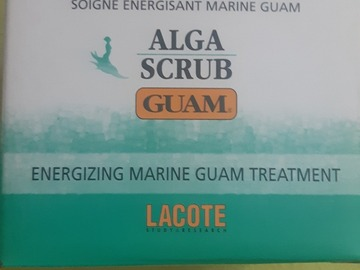 Venta: Exfoliante corporal ALGA SCRUB GUAM