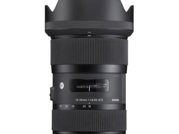 Vermieten: SIGMA EF 18-35mm f/1,8