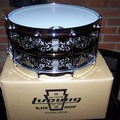 "Selling with online payment: Ludwig 100th Anniversary 14""X 6 1/2"" Engraved Black Magic Snare N"