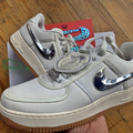 "Selling with online payment: Nike Air Force 1 Low x Travis Scott ""Sail"""