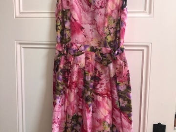 Selling: pink dress
