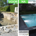 Click foto: [REALISATIE] Nouv'eau | Inox zwembad |10x4x1.5m