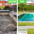 Click foto: [REALISATIE] Nouv'eau | Inox zwembad 8x3x1.5m