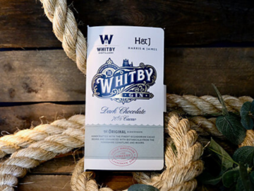 Artisan Products: Whitby Gin Dark Chocolate