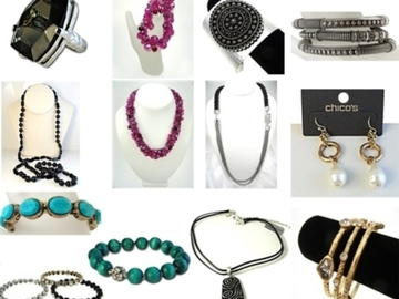 Buy Now: 40 -- DESIGNER JEWELRY--CHICO'S; EXPRESS; LOFT ETC $2.49 PC