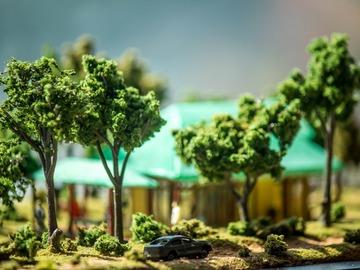 : A Beautiful House near Perth, Australia - Miniature Model