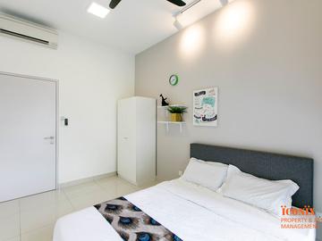 For rent: D'SARA SENTRAL ,SUNGAI BULOH ,LINK TO MRT (KG SELAMAT)
