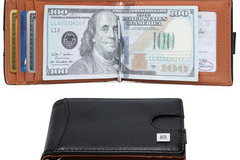 Buy Now: Slim Wallets for Men with Money Clip RFID Blocking
