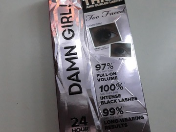 Venta: Damn Girl too faced mascara de pestañas