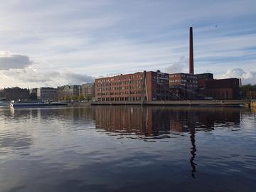 Vuokrataan: Kehräsaaressa 30,5 neliön työhuone