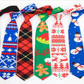 Buy Now: 100 PCS All  Of  Various Christmas ties For Women and Men