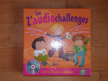 Vente: Jeu Les Z'audio Challenges Oxybul TBE