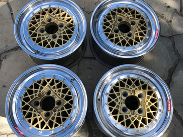 Selling: BBS Motorsport E76 Magnesium Wheels