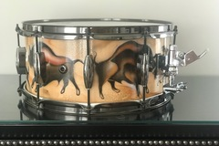 Selling with online payment: dddcustom design snare drum. Tejas Cave Drawing