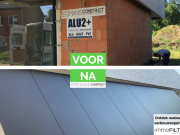 Click photo: [REALISATIES] Steegmans construct | Gevelbekleding in aluminium