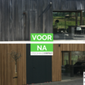 .: [REALISATIES] Steegmans construct | Gevelrenovatie in hout
