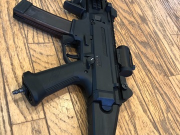 Selling: Asg cz scorpion evo hpa inferno new!!