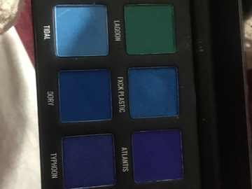 Venta: paleta de sombra de sample beauty