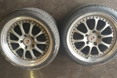Selling: Porsche fitment Kinesis K18