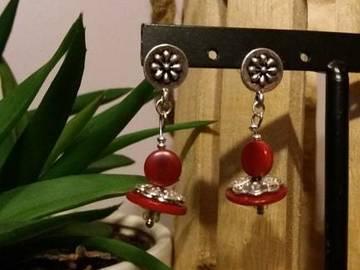 Vente au détail: boucles pendantes en ivoire vegetal
