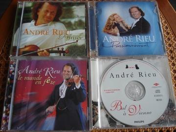 Vente: Lot de 4 CD d'André RIEU