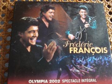 Vente: Double CD Frédéric François - Olympia 2002 -