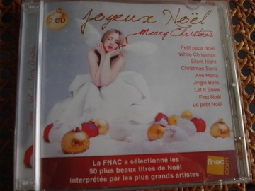 "Vente: CD ""Joyeux Noël, Merry Christmas"""