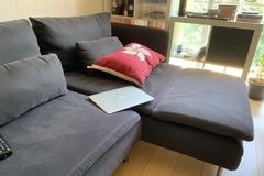 Selling without online payment: Ikea Sofa SÖDERHAMN  well maintained ,almost new