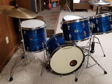 SOLD!: SOLD! 1970s Slingerland Drum Outfit