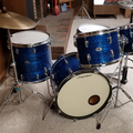 Selling with online payment: 1970s Slingerland Drum Outfit