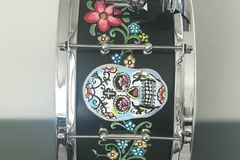 Selling with online payment: ddd Custom Design Snare Drum Celebration of The Dead