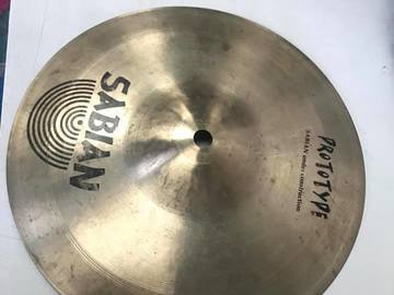 "Selling with online payment: Sabian Vault Tour 10"" Splash Cymbal"