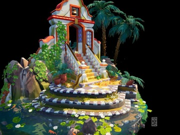 1 on 1 Mentoring: Mentorship; 2D and 3D Stylised Environment Art